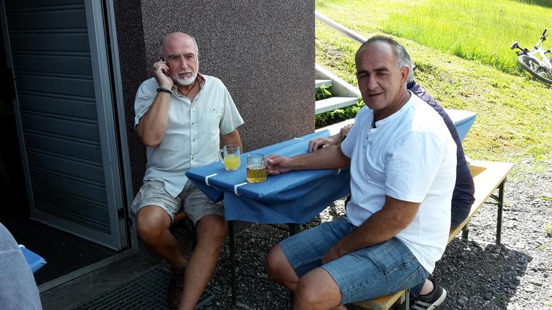 v.li.n.re.: Gerhard, (Franz), Guenter