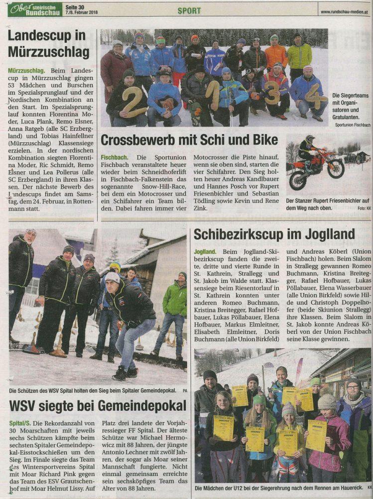 Bericht Obersteirische Rundschau