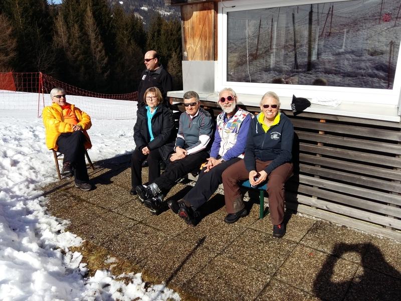 22.02.2016, v.li.n.re.: Gustav, Franz (Aschi), Eva, Franz (Engelbert), Helmut u. Hilde